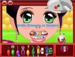 Little Princess at Dentist