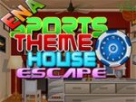 Sports Themed House Escape
