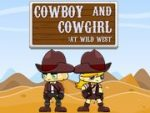 Cowboy and Cowgirl at Wild West