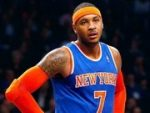 Carmelo Anthony In New York Game