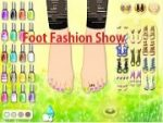 Foot Fashion Show