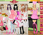 Pink Chef Dress Up